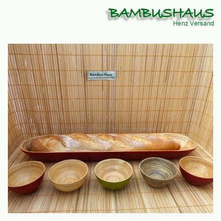 Bambus Schale Hoch Orange L Bambusartikel Schalen