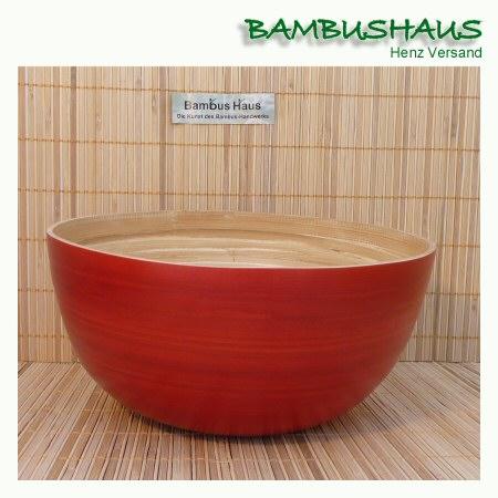 bambus schale bootf rmig natur glanz l bambusartikel schalen accessoires bambushaus. Black Bedroom Furniture Sets. Home Design Ideas
