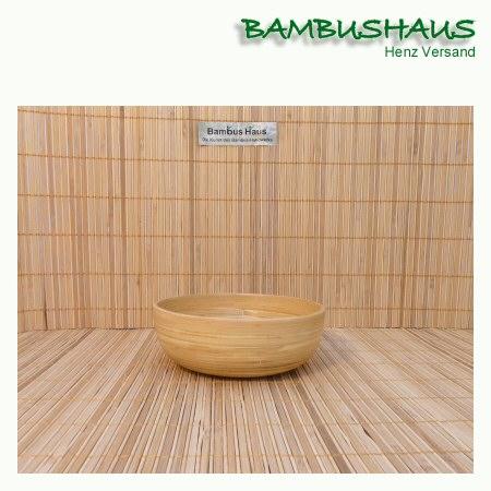 Bambus Schale Fur Musli Salat Uvm Natur Natur Matt Xs