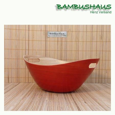 bambus korb rot m bambusartikel schalen accessoires. Black Bedroom Furniture Sets. Home Design Ideas